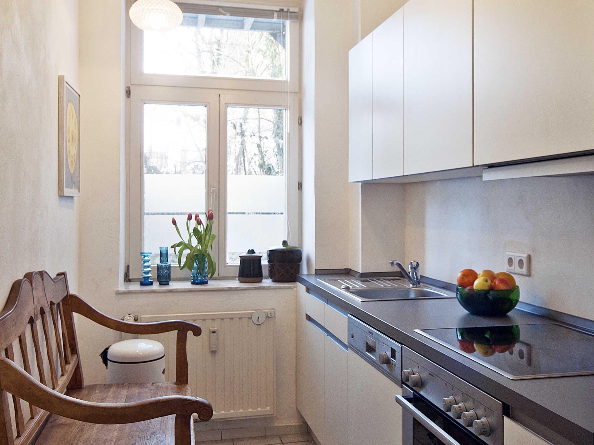 Moderne komfortable Einbauküche