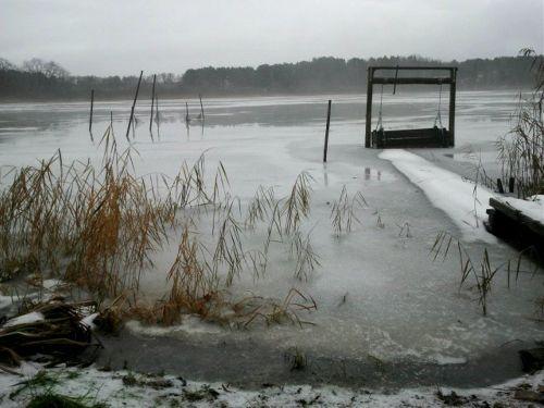Kolpiner See im Winter