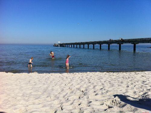 Flacher, breiter Strand - einfach schön