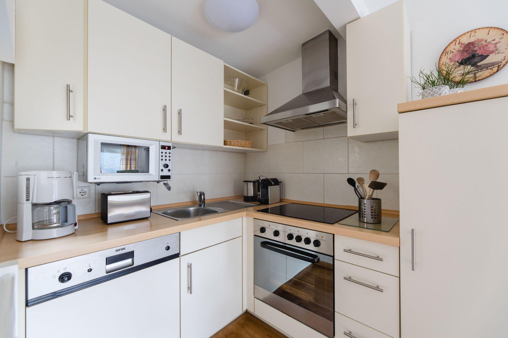 Zusätzliche Küche im Nebenhaus