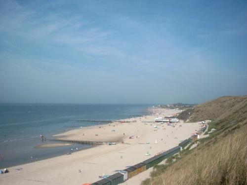 Strand von die Düne gesehen