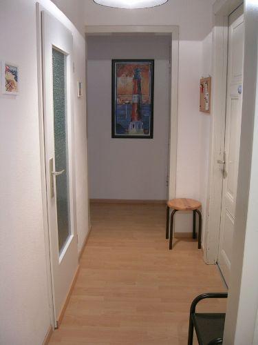 Eingang Blickrichtung Schlafzimmer
