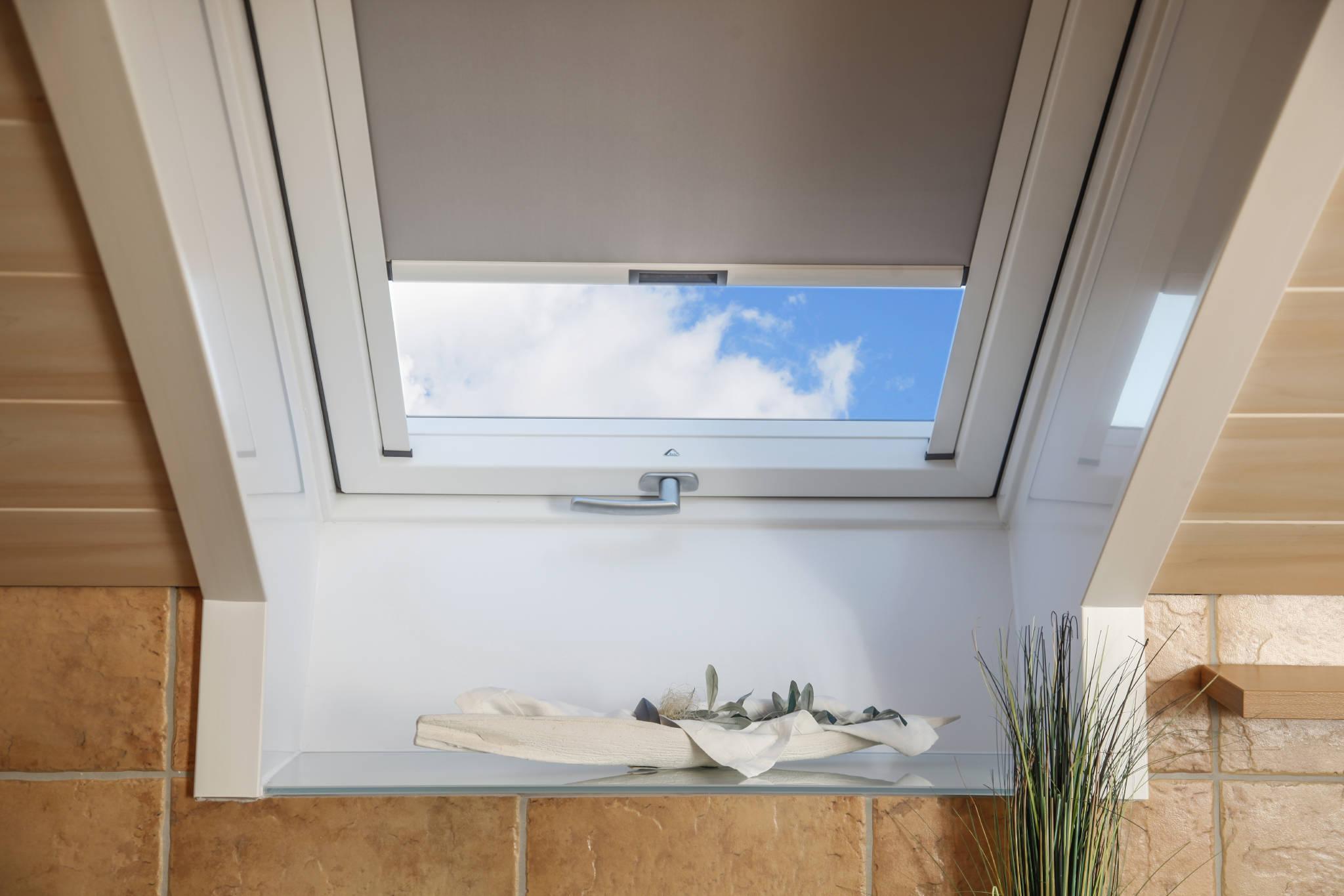 Sonnenschutz am Fenster
