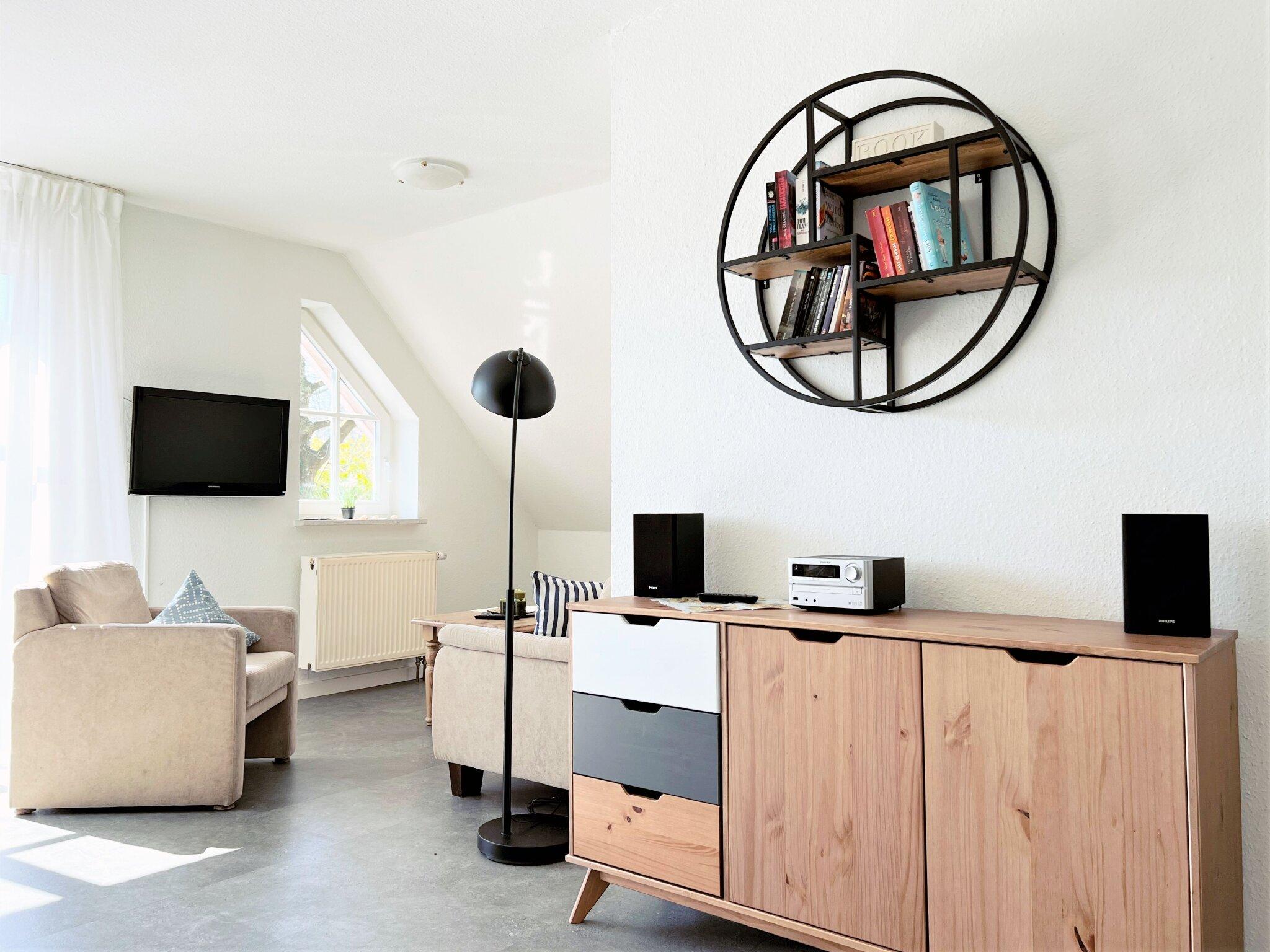 modern ausgestattete Einbauküche