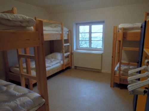 Zimmer für 6 Personen im Obergeschoss