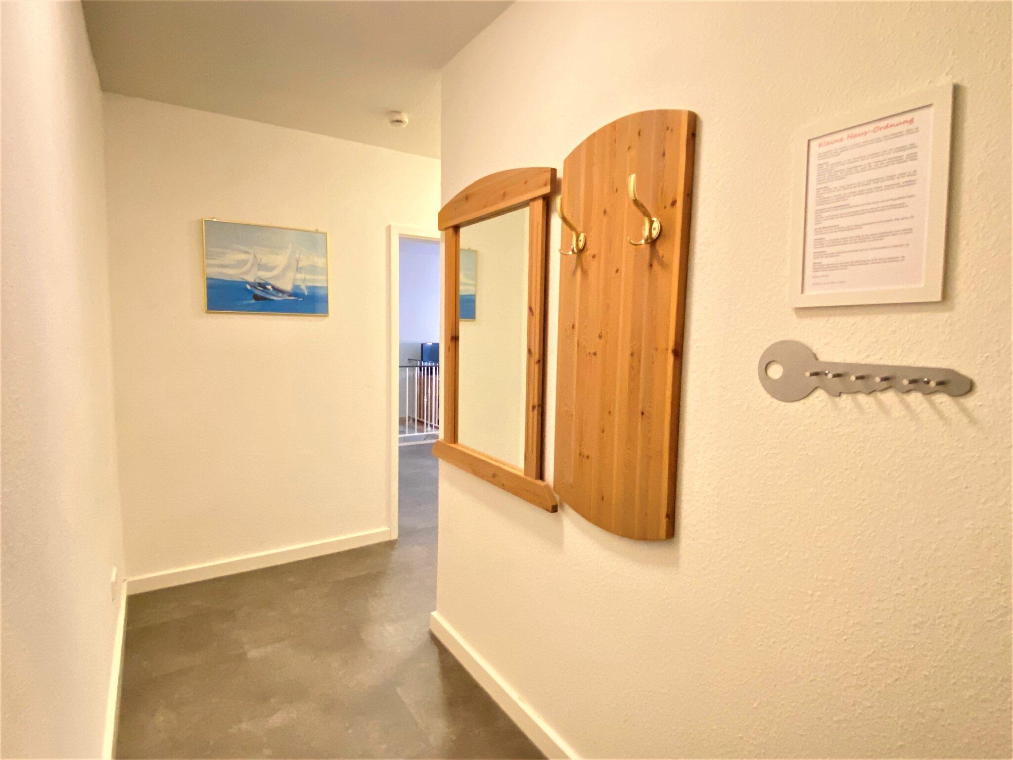 das Gäste-WC im Erdgeschoss