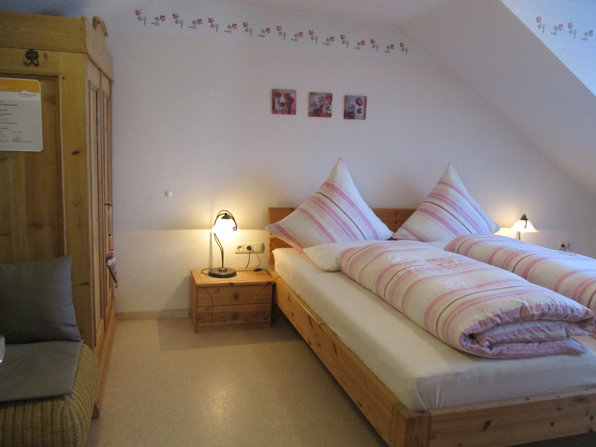 Doppelschlafzimmer 180x200 Stereoanl./TV