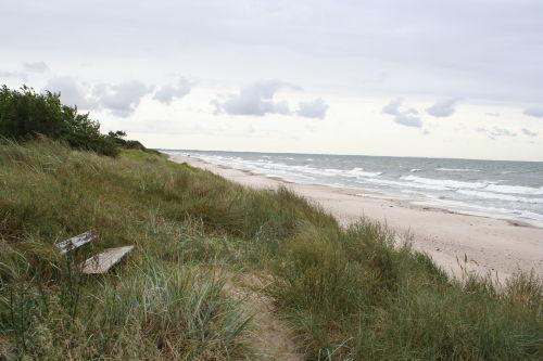 Endlosse Strand 12 km feinen Sand