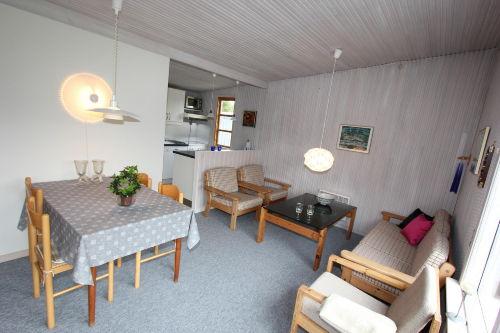 Kombinert Wohnzimmer und Küche