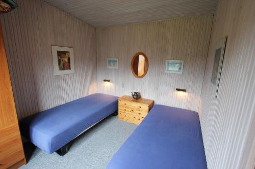 das Blaue Zimmer - auch als Doppelbett