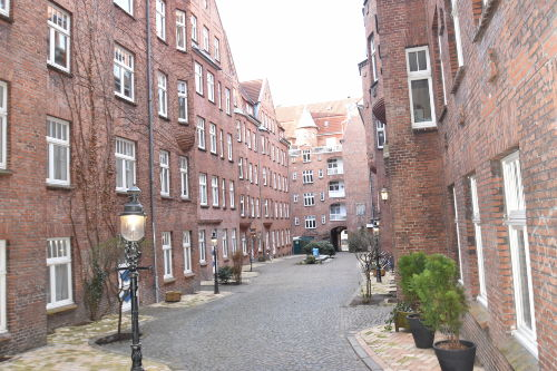 Burghof in Flensburg