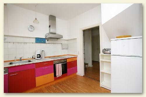 Farbenfrohe Küche