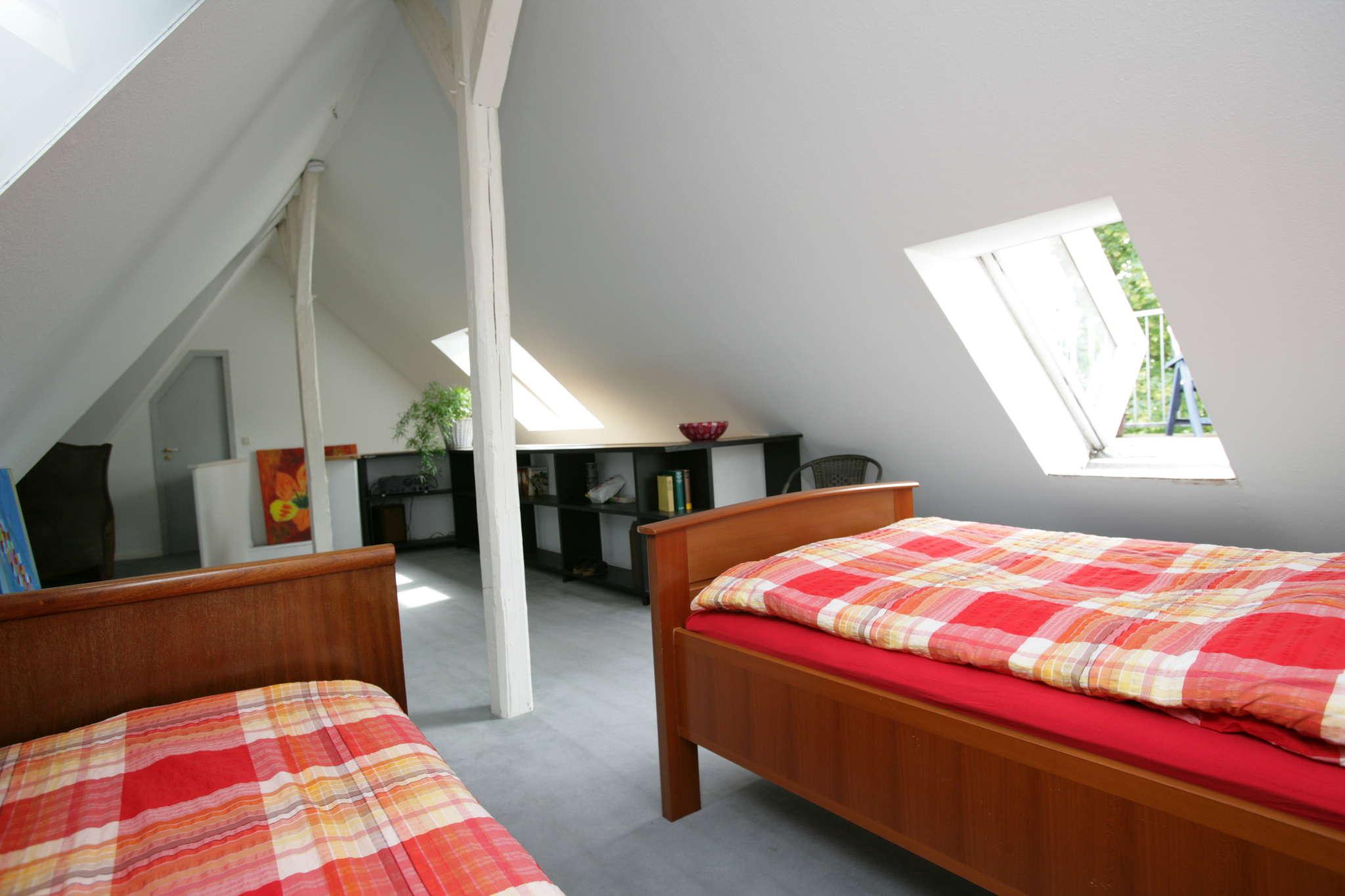 Zweites Schlafzimmer auf 2. Ebene