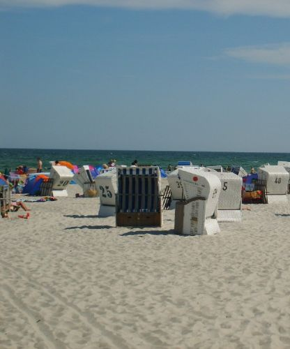 Feiner Sandstrand in Prerow