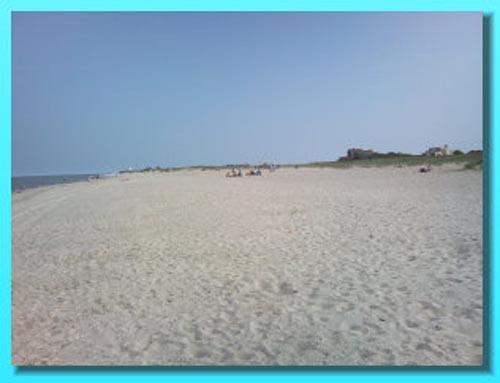Strand in Schillig (Hundestrand)