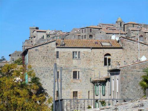 Blick vom Balkon auf Bolsena
