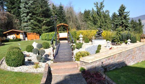 Ansicht Gartenanlage