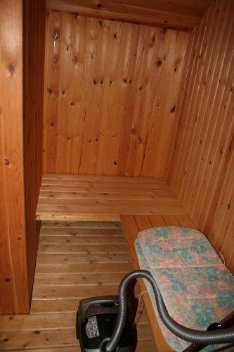 und die Sauna für Kälte Tage - Winter