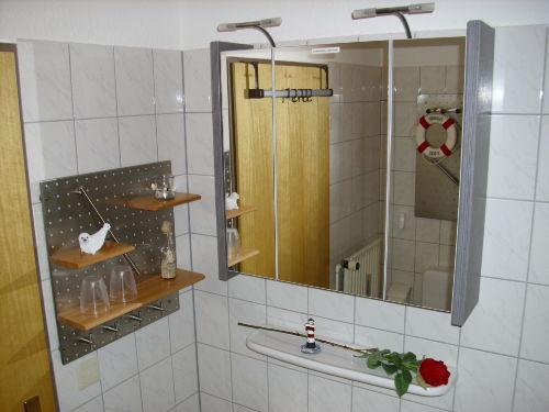 Badezimmer mit WC + Dusche