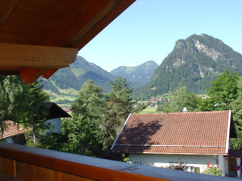 Balkon Blick Richtung Pfr.-Steinach