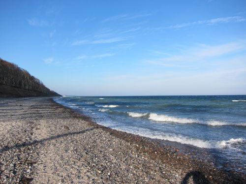 Der schöne Ostseestrand