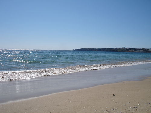 Meia Praia Strand