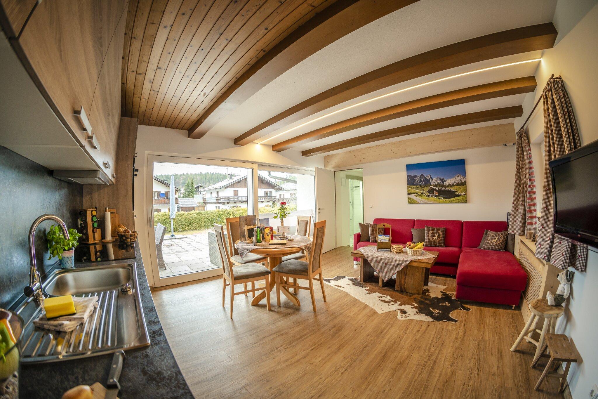 Schlafzimmer Erli 2 mit Terrassenzugang