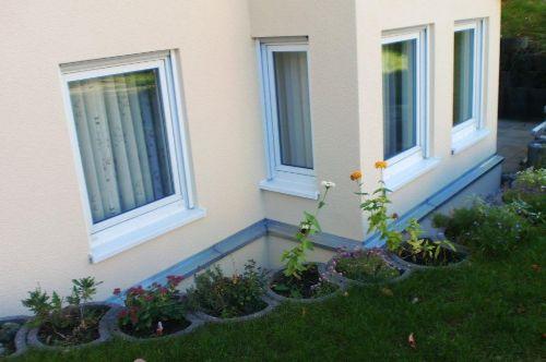 Die Wohnung von außen