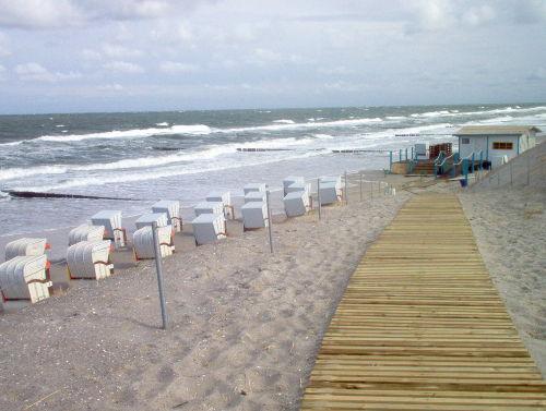 Die Strandoase am Ostseestrand