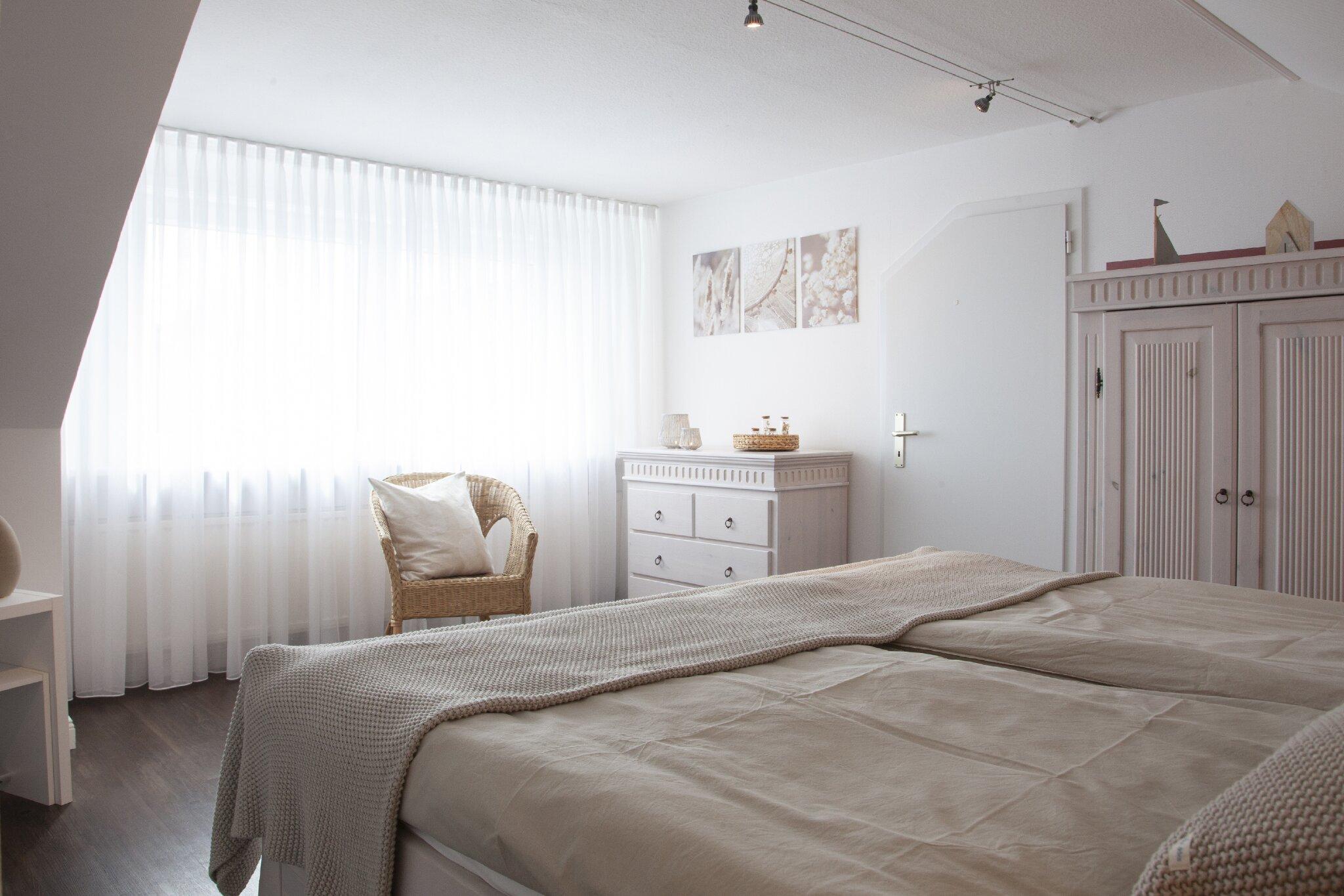 Das zweite Schlafzimmer indem