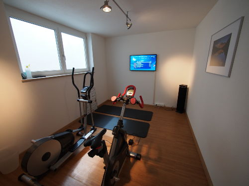 Fitnessraum im UG