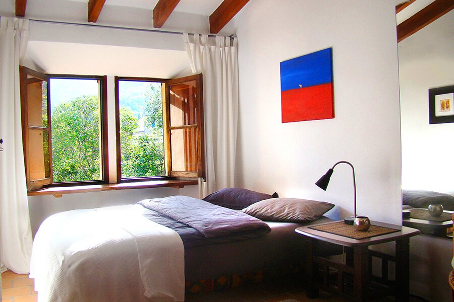 Zweites Zimmer der großen Wohnung