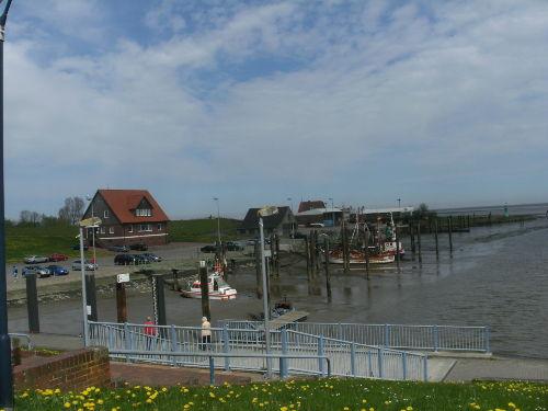 Kutterhafen bei Ebbe