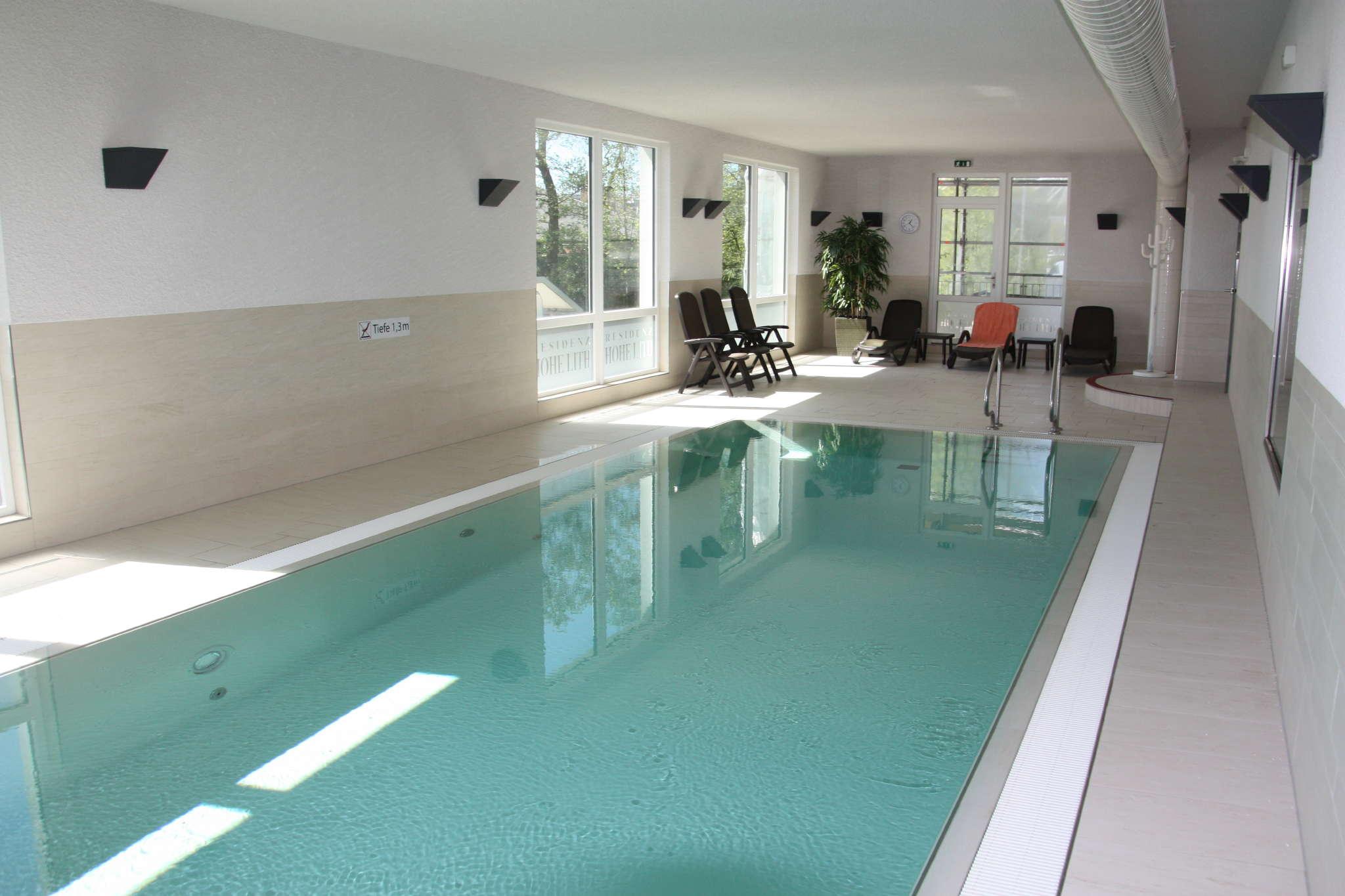 Das neue Schwimmbad