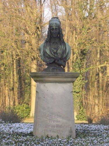 Dichterin Annette von Droste-Hülshoff
