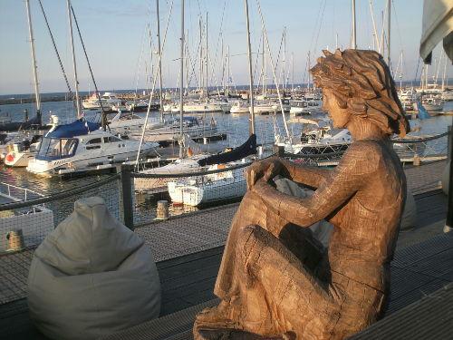 Kunst am Yachthafen
