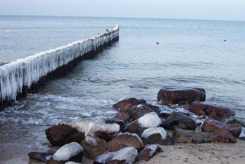 Winterromantik an der Ostsee