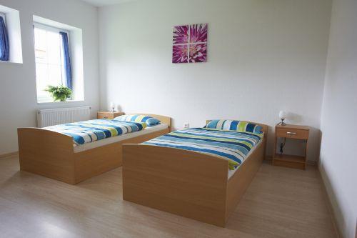Schlafzimmer (Einzelbetten)