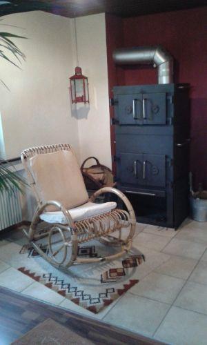 Ofenkamin obere Wohnung