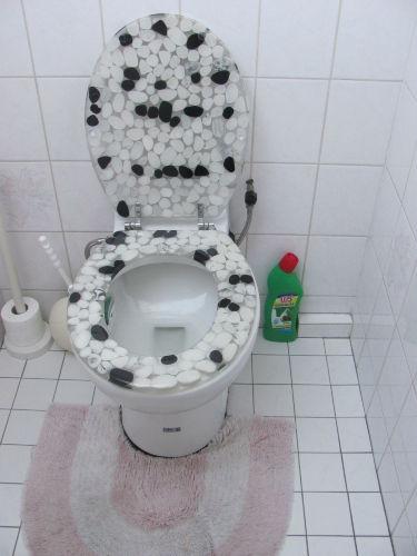 Privat Toilette neben an Zimmer