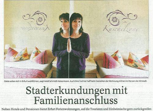 Herzlich Willkommen im Herzen von Erfurt