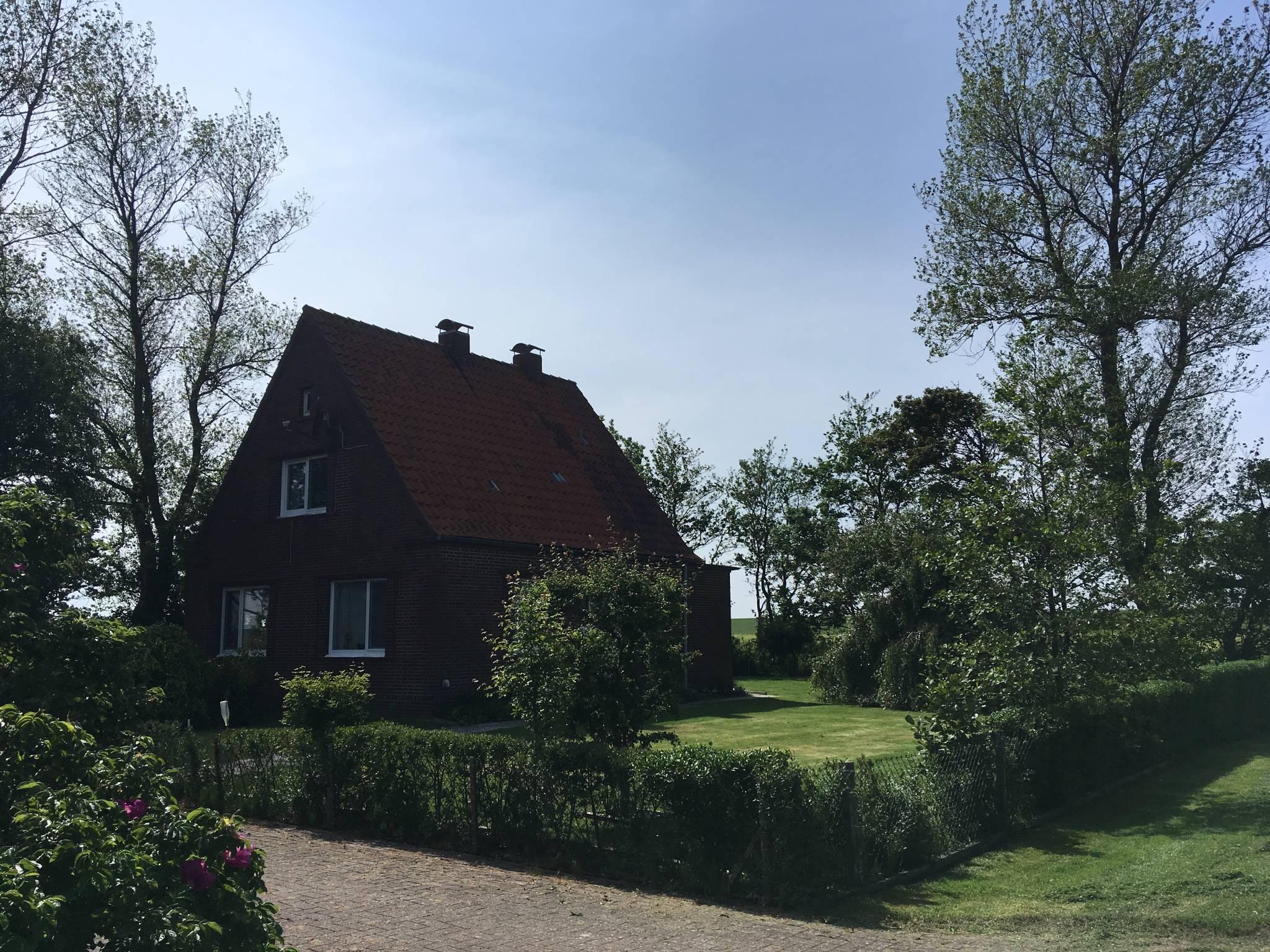 gemütliches Ferienhaus direkt am Deich