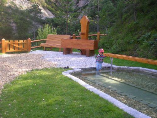 Kneippanlage mit Wasserfall-1km entfernt