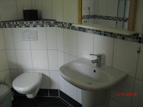 Duschbad liebevoll eingerichtet