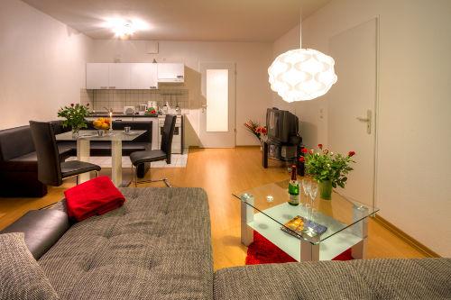 Wohnzimmer inkl Küche