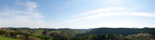 180� freier Panoramablick �b Oberharz