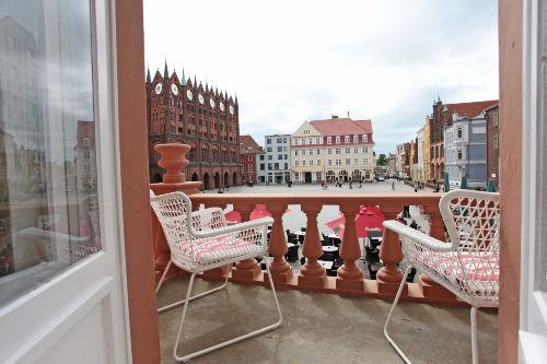 Ausblick Balkon Appartement 1