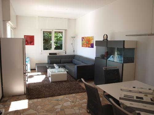 Wohnzimmer mit zusätzlichem Schlafplatz