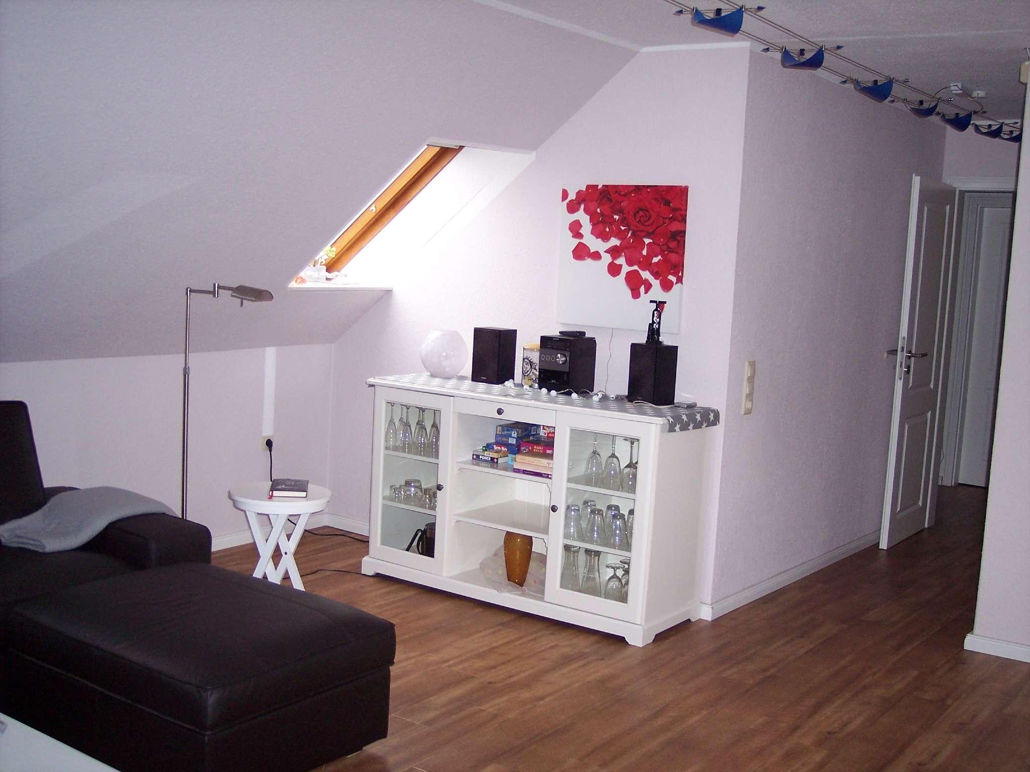 Wohnzimmer mit Micro-Kompakt-Anlage