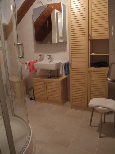Helles und neues Duschbad